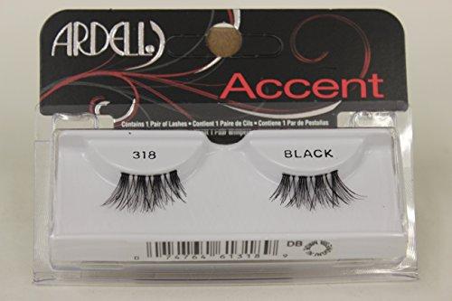 Ardell Duralash Accents False Eyelashes - #318 (Pack of 6)