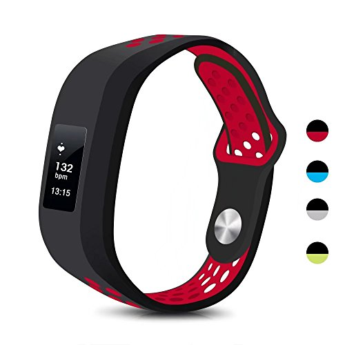 T-BLUER Garmin Vivofit 3/Vivofit JR Case Bands, Silicone Colorful Replacement Wristband Strap for Garmin Vivofit 3 and Vivofit JR with Clasps Fitness Bands Suitable to All Sizes,No Tracker Included