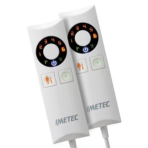 IMETEC Relaxy Express IntelliSense - Manta eléctrica para cama matrimonial, 150 W, tejido suave, color amarillo: Amazon.es: Salud y cuidado personal