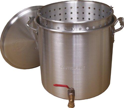 King Kooker KK120V Aluminum Boiling Pot, 120-Quart by King Kooker