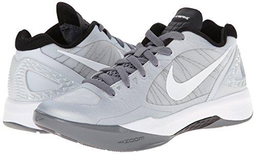 Nike Womens Volley Zoom Scarpe Da Pallavolo Iperspide Puro Platino / Grigio Freddo / Bianco