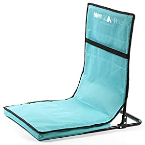 Portable Stadium Seat - Ultra Lightweight Folding Bleacher Chair for Sports & Outdoor Activities - Stylish, Convenient and Easy-to-Carry by One Savvy Life