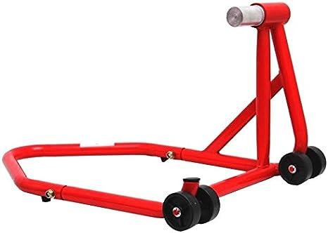 Cruizer Hinterbauständer Gabel Moto Ducati Rot Größe 21 7 Cm 25 5 Mm Auto