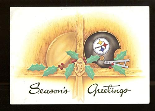 1978 Pittsburgh Steelers Christmas Card Team Issued Photo 43762