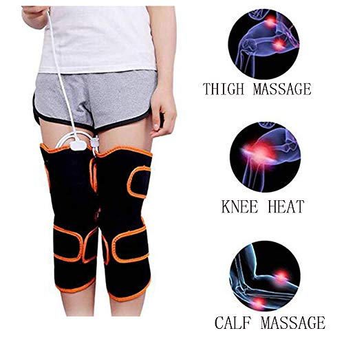 Electric Heating Multifunction Knee Massage Pain Relief Vibration Massager Muscle Magnetic Therapy Rheumatism Health Care Pads