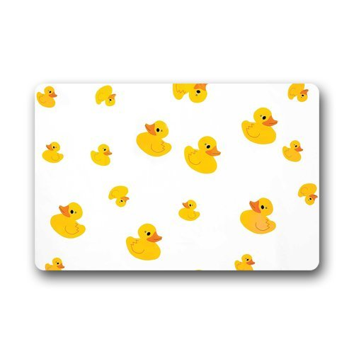 Custom Duck Animal Door Mats Cover Non-Slip Machine Washable Outdoor Indoor Bathroom Kitchen ...