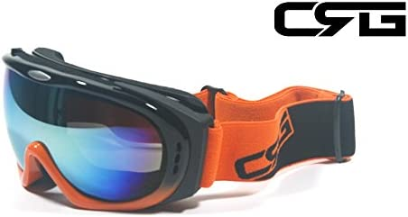 CRG Ski Snowboard ANTI-FOG DOUBLE LENS DOUBLE-LAYER FOAM Goggles T815S-30-4
