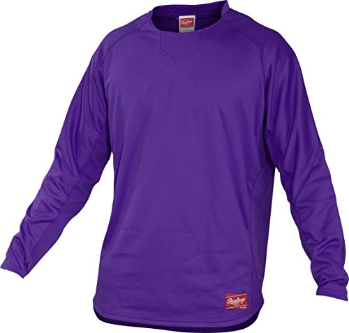 Rawlings  Youth Dugout Fleece Pullover, X-Large, Purple