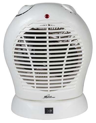- Royal Sovereign, Oscillating Fan/Heater (HFN-20)