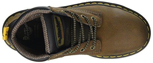 Marrón Unisex De Hynine Seguridad Dr brown Adulto Zapatos 203 St Martens q8IwYA