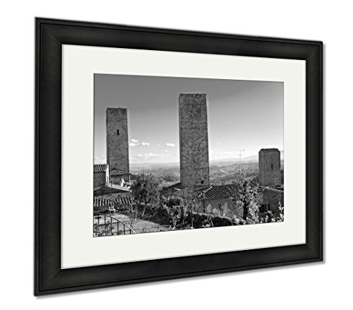 Ashley Framed Prints Peoples Committee Building In Ho Chi Minh City Vietnam  Office Home Kitchen Decor  Black White  30X35  Frame Size   Black Frame  Ag5921035