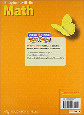 Math Worksheets houghton mifflin math worksheets grade 5 : Houghton Mifflin Math, Level 5 Student Textbook: Carole Greenes ...