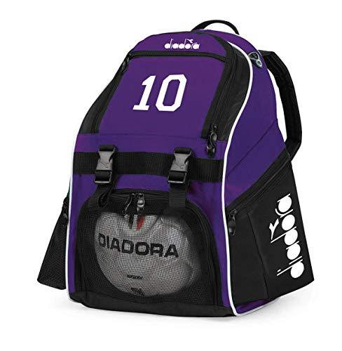Code Four Athletics Diadora Squadra Soccer Backpack Customized