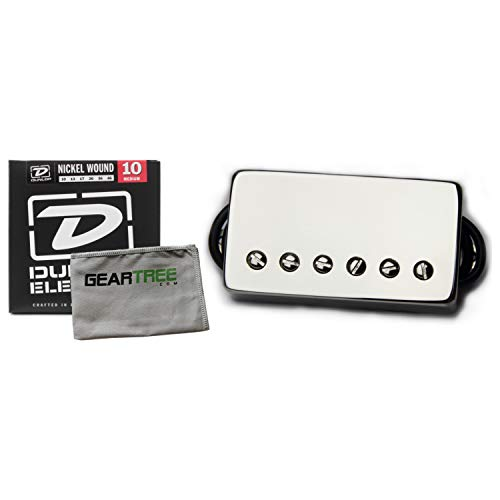 Bare Knuckle Pickups Brute Force Humbucker Nickel 50mm Bridge Pickup Bundle (Bare Knuckle Humbuckers)