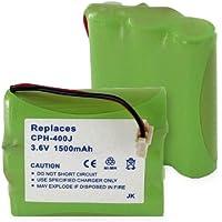 1500mA, 3.6V Replacement NiMH Battery for Panasonic PSPT3HRAAU41(65) Cordless Phones - Empire Scientific #CPH-400J