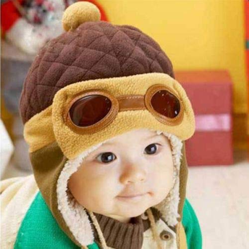cd8b7f10354 Culturemart Lovely Winter Baby Toddlers Hat Girl Boy s Pilot Aviator Cap  Warm Soft Beanie Bomber