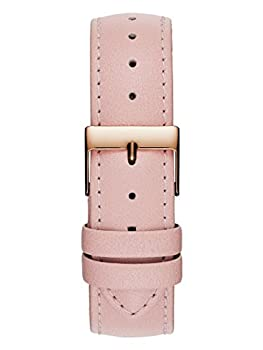 Guess Women's Quartz Stainless Steel & Leather Casual Watch, Color:pink (Model: U0032l7) 3