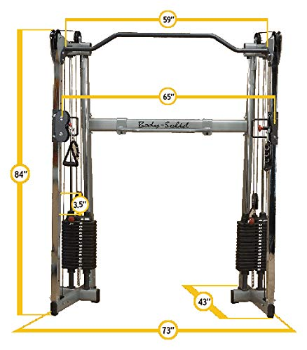 Body-Solid 72.5 in. Ribber Functional Training Center