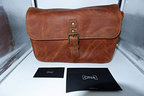 Compact Murphy Wallet (ONA - The Bowery - Camera Messenger Bag - Antique Cognac Leather (ONA5-014LBR))