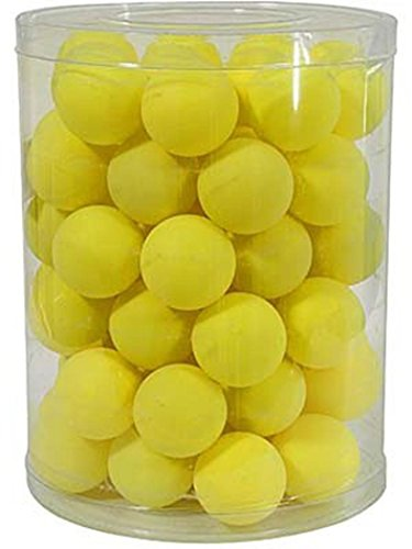 Table Tennis Sports Match Playing Ping Pong Practice Balls Pack Of 72-yellow by Sportsgear US