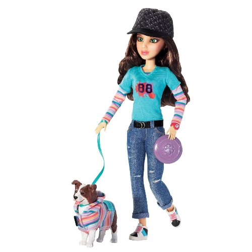 Liv Doll with Border Collie Pet – Katie and Sk8, Baby & Kids Zone