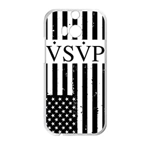 Malcolm US. Flag VSVP Cell Phone Case for HTC One M8