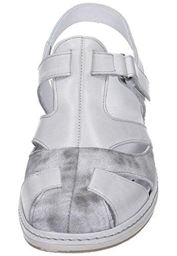 Comfortabel Comfortabel Damen Sling - Zapatos de vestir de Piel para mujer Gris gris Gris - gris