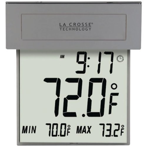 Price comparison product image The BEST LA CROSSE TECHNOLOGY Solar Window Therm