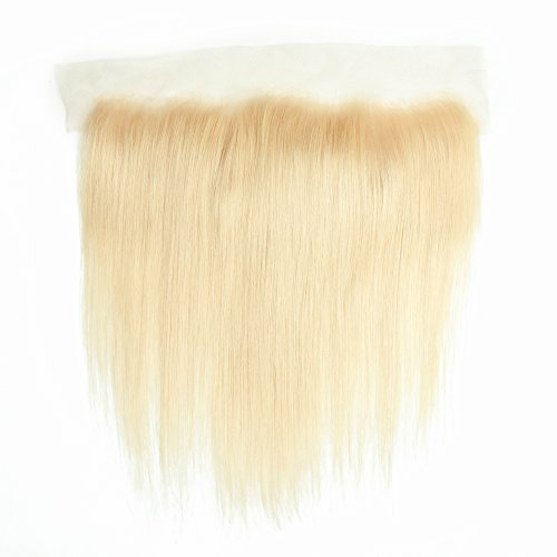 Allrun Hair Brazilian Human Hair 613 Blonde Lace Frontal Straight Virgin Hair 613 Blonde Frontal With Baby Hair 7A Grade (16 Inch Frontal) from ALLRUN