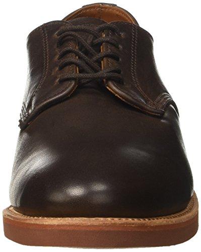 Walkover Herren George Brogue-Schuhe Marrone (Dark Brown Leather)