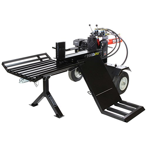 RuggedMade RS-322-LE-LK, 22 Ton Log Splitter with 196CC L...