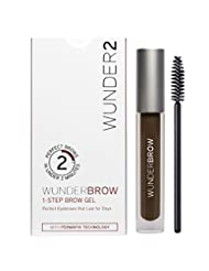 Wunder2 Wunderbrow Eyebrow Gel Perfect Eyebrows in 2 Mins - B...