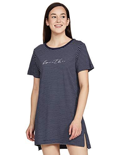 Enamor Essentials E061 Women Night Dress Cotton Tunic Tee