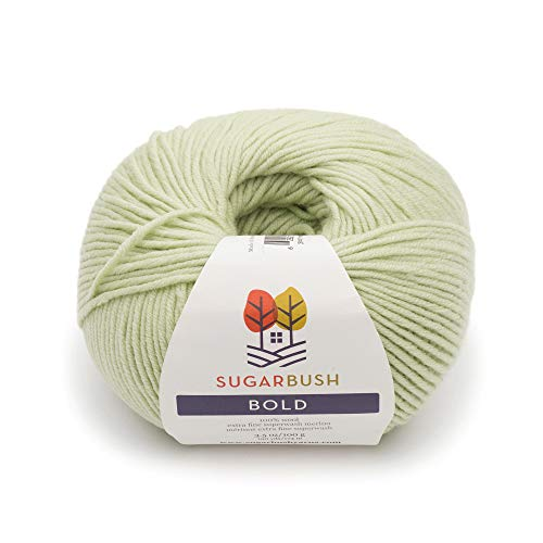 (Sugar Bush Yarn Bold Knitting Worsted Weight, Pine Pass)