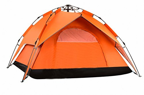 Wnnideo Automatic Outdoor Tent 3-4 Person Camping Tent Double Layer