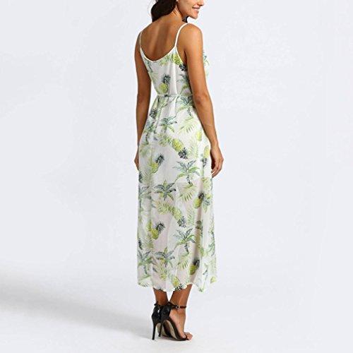 ... Jaminy Damen-Kleid Maxikleid Casual Strandkleider Maxikleid Cocktail  Abendkleid Sommerkleid Boho Kleider Elegant Langarm Maxikleid ... 539d4e345e