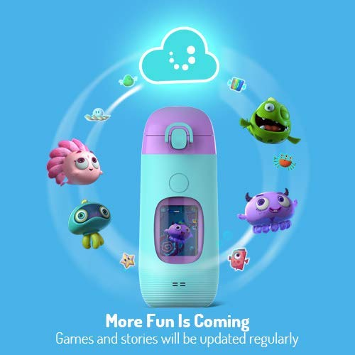 Smart Water Bottle for Kids - GululuGo Interactive Water Bottle Includes Games and Stories Along with a Health Tracking Smartphone App, 350ml Smart Water Bottle for Kids by Gululu (Image #5)