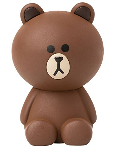LINE FRIENDS Brown Musk-Flower Car Air Freshener One Size Brown (Air Home Freshener Store The)