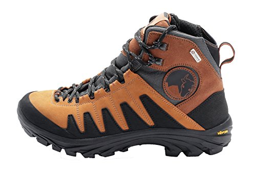 Mishmi Takin Kameng Mid Event Waterproof Hiking Boot (EU 44/US Men 11, Sunset Orange)