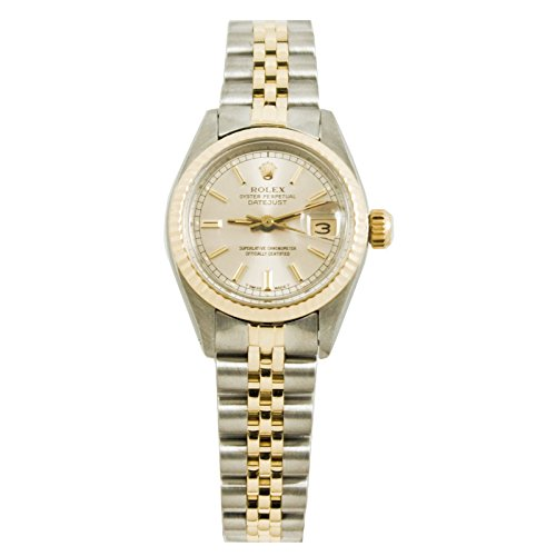 Wind Rolex Watch (Rolex Datejust automatic-self-wind womens Watch 6917JSS (Certified)