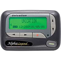 Unication Alpha Elegant / Legend Wideband Alphanumeric Pager