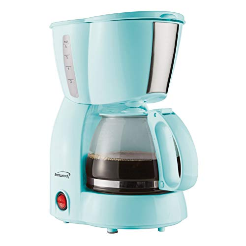 Brentwood TS-213BL 4 Cup Coffee Maker,