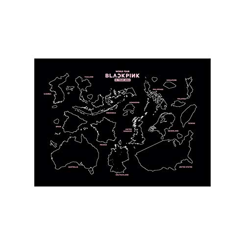 [Official] YG Entertainment YG Select Blackpink World Tour Tour Scratch MAP