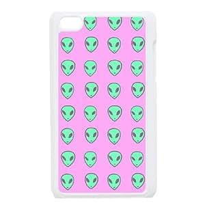 iPod Touch 4 Phone Cases White Alien BGU287061