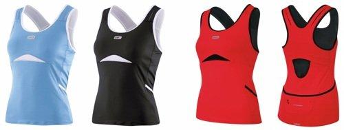 Louis Garneau Fast Skin Top - Sleeveless - Women's Black/White, M ()