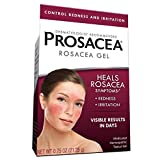 Prosacea Medicated Rosacea Gel – Controls Rosacea Symptoms of Redness, Pimples & Irritation - 0.75 Oz