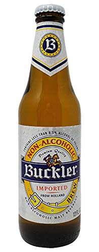 Buckler Non-Alcoholic Beer, Imported From Holland, 12 fl oz (24 Glass Bottles)