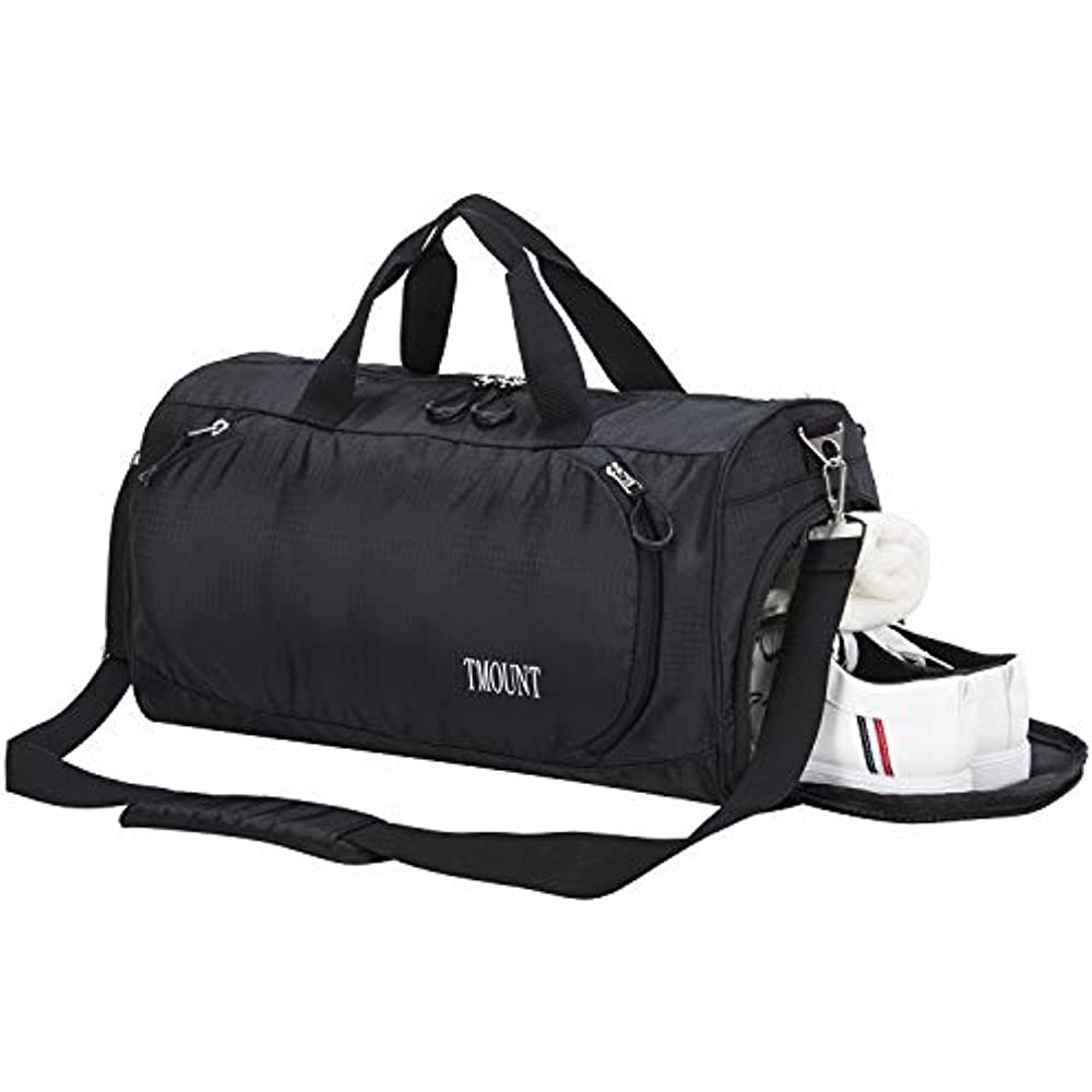 79473c6236 Gym Duffle Bag Travel Sports Bag with Shoe Compartment and Wet Pocket for  Women
