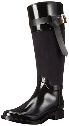Ted Hampto Women's Baker Boot Black Rubber Rain rxrpqRCw