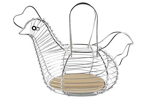 wired chicken egg basket - 2